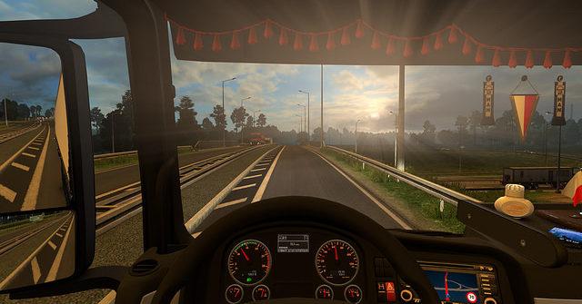 Un simulador de camiones para aprender a conducir