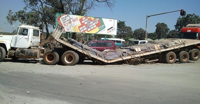 Carreteras con más riesgos de accidentes de camiones