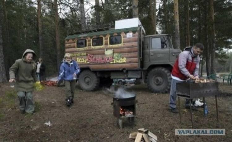 camion sauna