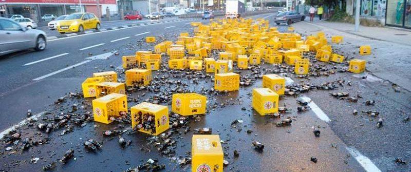 Las cargas más curiosas perdidas por camiones