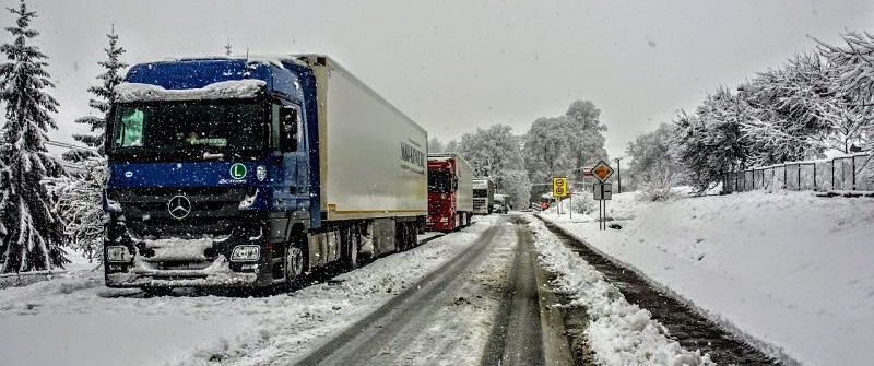 Peligros de conducir en invierno