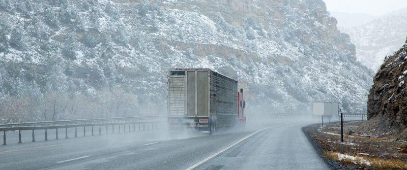 Conoce las carreteras de España con más hielo